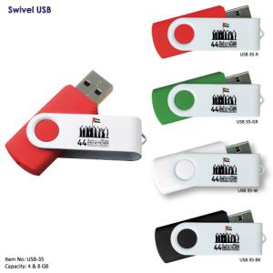 Swivel-USB-printing-LOGO-cheap-price-8GB