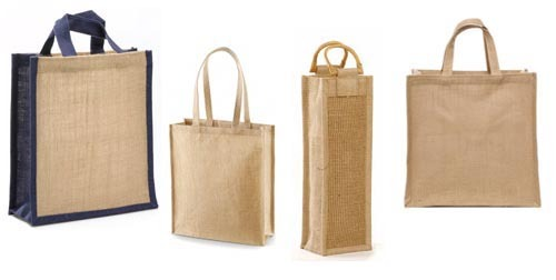 custom jute bag and cotton bag